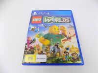 Mint Disc Playstation 4 Ps4 Lego Worlds Free Postage