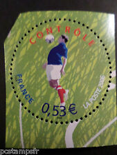 FRANCE 2006, timbre 3911, SPORT, FOOTBALL, LE CONTROLE, neuf**, MNH STAMP