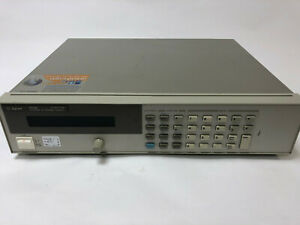 AGILENT 6632B 0-20V/0-5A 100 WATT DC POWER SUPPLY GREAT CONDITION!