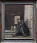 LAURENCE HENRY IRVING 1897-1988 BRITISH OIL PAINTING ART ex AGNEWS CIROS LIFE