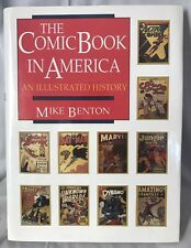 The Comic Book in America: An Illustrated History by Mike Benton 1989 1st Ed