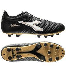 Diadora Roberto Baggio 03 Italy Black/White Mens US 10 New Soccer Leather Remake