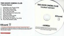 TWO DOOR CINEMA CLUB Tourist History 2010 UK 10-trk watermarked promo test CD