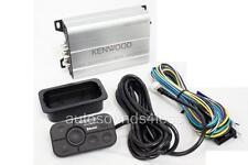 Kenwood KAC-M1824BT 400 Watts 4-Channel Class D Marine Amplifier Bluetooth New