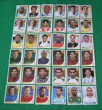 Panini Sammelbilder: Fußball-WM 2010 + 3 St. WM 2002 + 2 EM 2016 / 4 x Auswahl