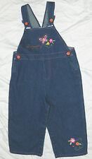Infants Girls Fisher Price Brand Denim Overalls size 24 months / 24x11
