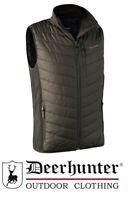 Deerhunter Moor Padded Waistcoat w/ Softshell 4571 Hunting Bodywarmer DH Timber