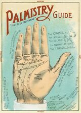 Palmistry - Palm reading  Poster Cavallini & Co 20 x 28 Wrap
