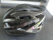 Used Giro Atmos Helmet Large 59-63 cm Road Cycling Matt Black/PopArt edition