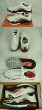 New Mens 15 NIKE Air Max TR180 TR 180 White Bright Crimson $140 537803-106