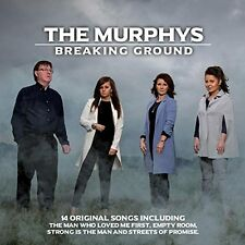 THE MURPHYS BREAKING GROUND CD ALBUM (2016)