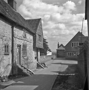B/W 6x6 Negative Bletchingley Surrey Village Scene 1951 INC ©  redb509