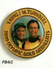 2000 Sydney Olympics Commemorative Medal - Mark Turnbull Tom King - Sailing