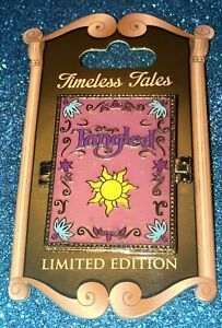 DISNEY WDW 2016 TIMELESS TALES TANGLED RAPUNZEL MOTHER GOTHEL LE 3000 HINGED PIN