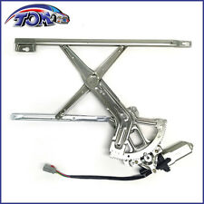 BRAND NEW FRONT DRIVERS SIDE POWER WINDOW REGULATOR WITH MOTOR FOR 90-93 ACCORD