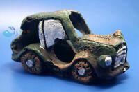 Aquarium Decoration Lost  Army Car for fish Tank Resin Ornaments AK512 Free ship