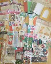 2 kg job lot Christmas craft bundle card making 50-60 packets   Get Fund Raising