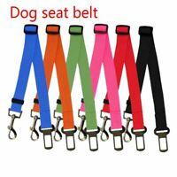 retenue chien de compagnie travel clip ceinture de sécurité harnais laisse
