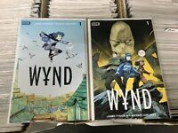 Wynd 1 Two Comic Lot - Regular Cover & Variant