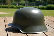 GERMAN HELMET M42 M 42 SS TOTENKOPF  - FELDGRAU PAINTING MUST SEE IT !!