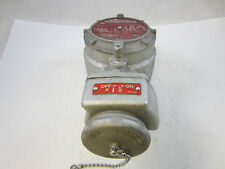 CROUSE HINDS FSQC232 DEAD FRONT INTERLOCKED RECEPTACLE AND SWITCH FSQ