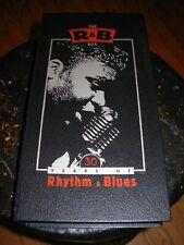 VARIOUS 30 years of rhythm & blues  ( blues ) cd box booklet