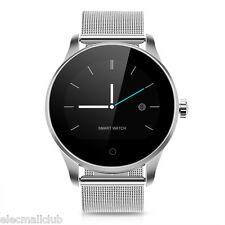 NEU Excelvan K88H Edelstahl Smart Watch Pulsuhr Armbanduhr Für Android IOS SMS