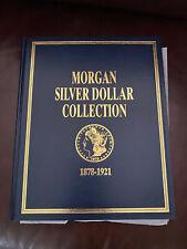 Morgan Silver Dollar Folder Book Starting 1878 - 1921
