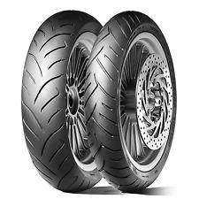 Coppia gomme pneumatici Dunlop Scootsmar 80/80-16+  90/80-16 aprilia scarabeo 50