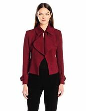 Anne Klein Womens Collection Short Trench Jacket Size 10 #V 123 Msrp: $149