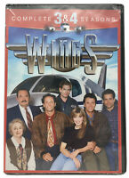 WINGS Complete Seasons 3 & 4 DVD 5-Discs, 44 Episodes (CBS TV Series) NEW/Sealed