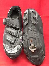 Pearl Izumi All Road III  Black Cycling Women Shoe EU 41 US 9.5 Shimano + Cleats