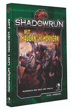 Shadowrun Mit Hauern und Hörnern (Quellenband, Hardcover)