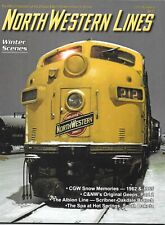 C&NW North Western Lines #4 2011 CGW Snow Memories Original Geeps Albion Line SD