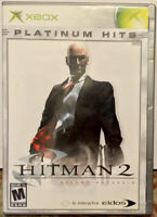"""Hitman 2: Silent Assassin"" Xbox Platinum Hits CIB"