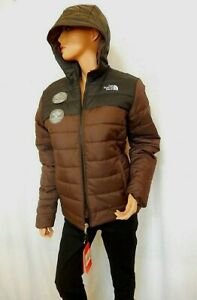 *NWT* $110 The North Face Boys' Reversible Perrito Jacket Brown Siz M 10-12