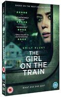 THE GIRL ON THE TRAIN EMILY BLUNT JUSTIN THEROUX LUKE EVANS E1 UK DVD NEW