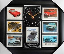 Ford Cortina Mk II Stunning Collector Cards Wall Clock