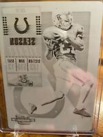 2018 Contenders Optic  Printing Plate  TY T.Y. Hilton 1/1 COLTS