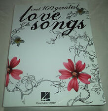 CMT 100 Greatest Love Songs Soft Cover 441 Pages Hal Leonard