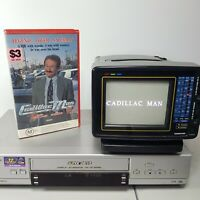 Robin Williams Cadillac Man TESTED WORKING VHS Video Tape Comedy