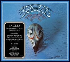 THE EAGLES THEIR GREATEST HITS VOLUMES 1 & 2 2CD SET (Released 21st July 2017)