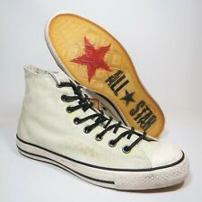 RARE Converse John Varvatos Chuck Taylor Painted Rubber Hi Top Boots Size UK 8.5