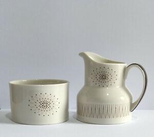Royal Doulton Morning Star Milk Jug and Sugar Bowl - Please Read