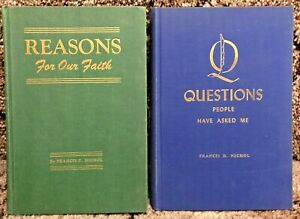 2 Book Lot Francis D Nichol Reasons for Our Faith Questions People Have Asked Me