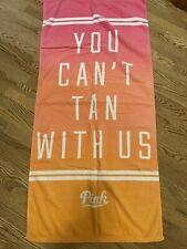 victoria secret pink vintage 2014 beach towel