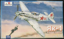 Amodel 7255 - YAKOVLEV YAK-1 (early) - 1:72 - Flugzeug Modellbausatz - Model Kit