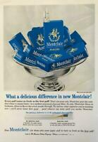 1964 Montclair Modern Cigarettes Print Ad What a Delicious Difference