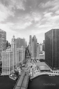 Chicago Photography, Chicago Gift, Wrigley Building, Magnificent Mile Wall Art