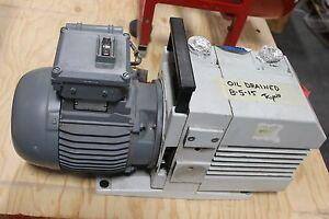 Leybold Trivac D16 B Rotary Vane Vacuum Pump